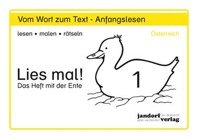 Lies mal! Heft 1 (alte Ausgabe Österreich)