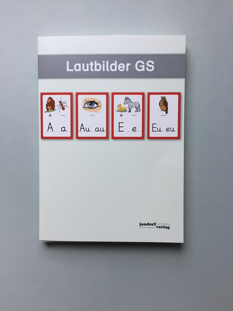 Lautbilder Grundschrift, DIN A4, 44 Stück