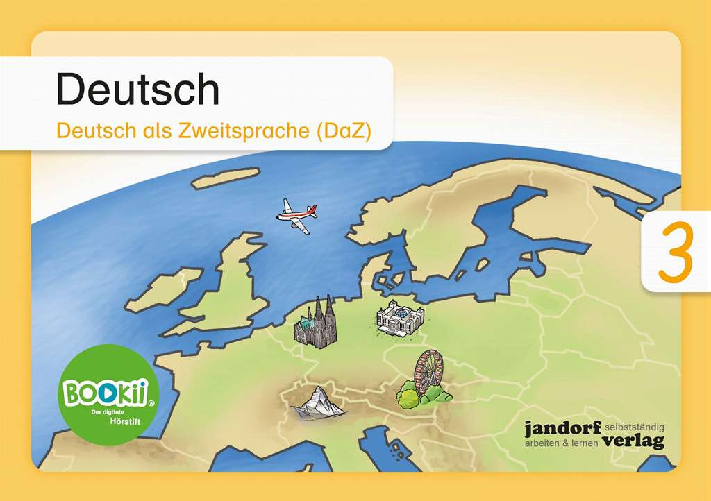 Deutsch 3 (DaZ) BOOKii