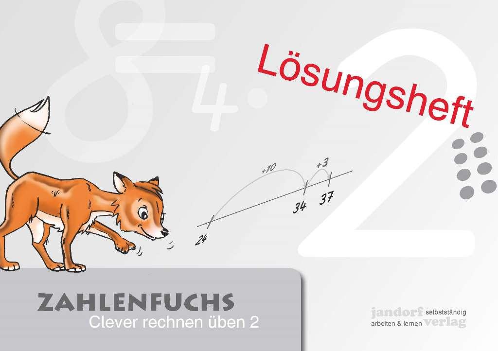 Zahlenfuchs 2 (Lösungsheft)