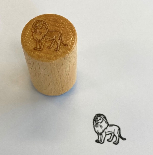 Stempel Löwe