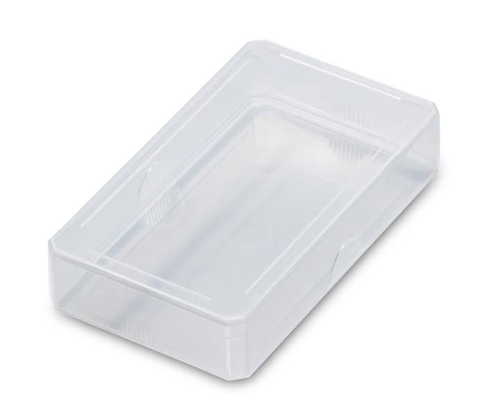 24 Kunststoffschachteln (10,7 x 6,3 cm)