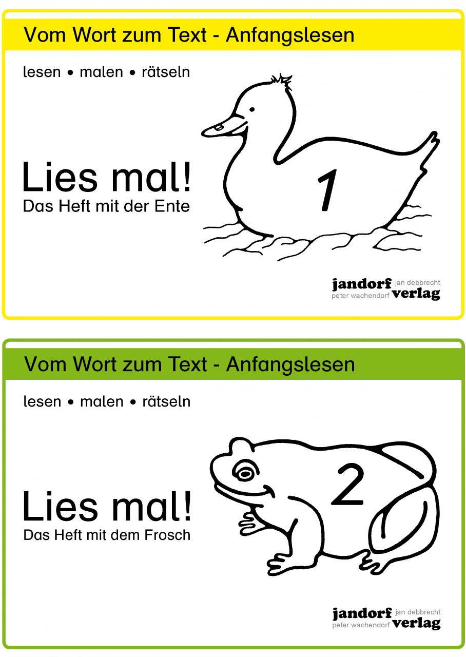 Lies mal! Hefte 1 und 2