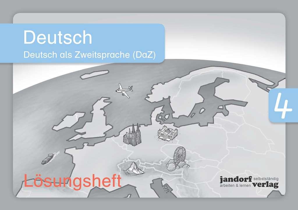 Deutsch 4 (DaZ) Lösungsheft