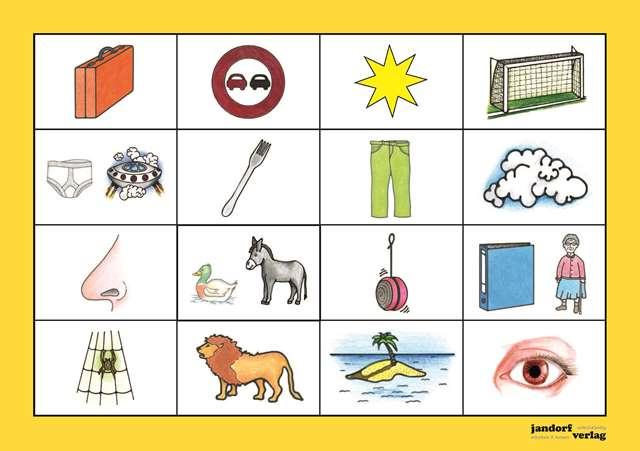 Bingo Karte 1
