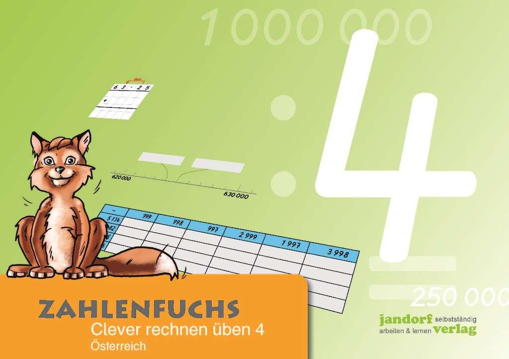 Zahlenfuchs 4 (Ausgabe Österreich)