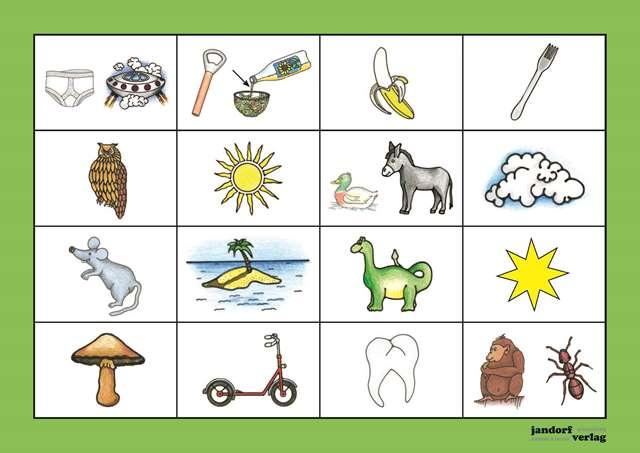Bingo Karte 4