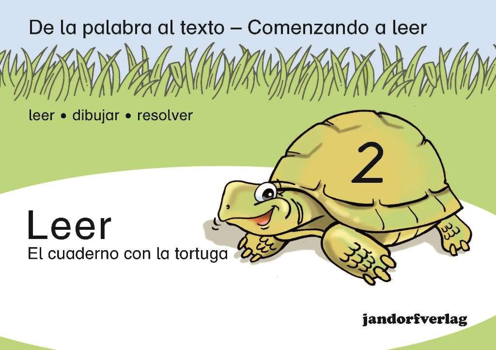 Leer 2 - El cuaderno con la tortuga