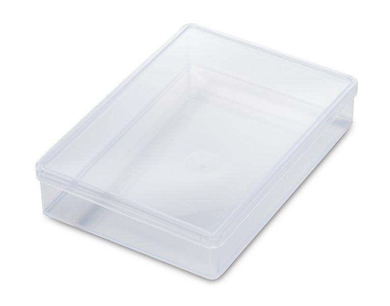 10 Kunststoffschachteln (DIN A6)