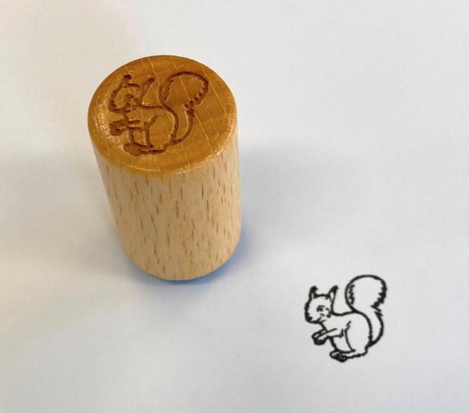 Stempel Eichhörnchen