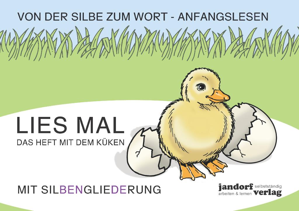Lies mal Küken (in GROßBUCHSTABEN)